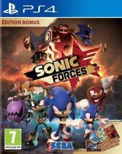 Jeu PS4 SONIC FORCES - EDITION BONUS