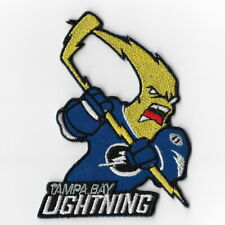 NHL Tampa Bay Lightning Mascot Iron on Patches Embroidered Patch Applique Badge