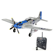 TOP 750mm P51D Mustang Warbirds RTF RC Plane Model W/ Motor Servos ESC Battery
