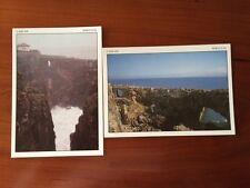 2 Vintage Postcards - CASCAIS PORTUGAL Boca De Inferno -Seaside Cliff free ship