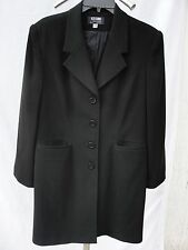 Spectacular Ice Cube By Michael Light Weight Black Coat Blazer Size 12P