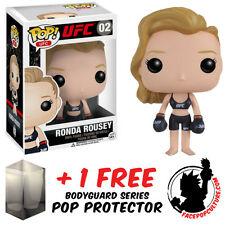 FUNKO POP VINYL UFC RONDA ROUSEY VINYL FIGURE WITH FREE POP PROTECTOR