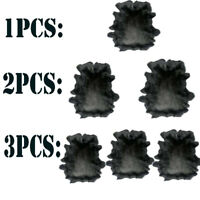 Select Large Muskrat Pelts Tanned Top Quality Wild Country Furs Glamour Black