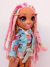 MGA Entertainment Rainbow High Kia Hart Doll with Braided Hair, NUDE NO CLOTHES