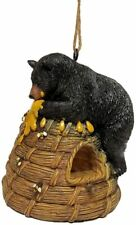 Bear Honey Hive Birdhouse