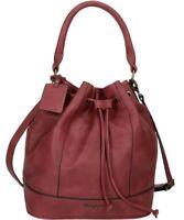Borsa borsetta tracolla Secchiello mano spalla Bag Donna Pepe Jeans bordeaux ...