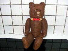 Nicolas adorable petit ours ancien hauteur 33 cm remplis de palle.