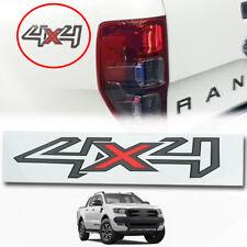 For 12+ Ford Ranger T6 Wildtrak Pair 4X4 Grey-RED Stiker Decals Genuine