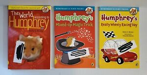 Lot of 3 According to Humphrey Books The World , Wheely Racing, Mixed Up Magic