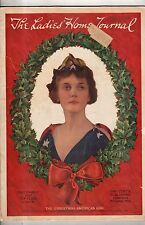 1917 Ladies Home Journal December - Big Christmas Issue; Red Cross; popcorn