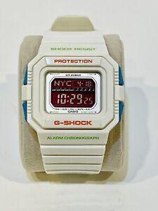 Casio G-Shock Watch GLS-5500P White And Neon