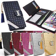 Mont Vert Cubic Wallet Case for LG G7 G6 G5 G4 V30 V20 V10 / Apple iPhone 6 6s