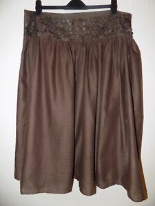 Y2K Boho Hippy Gypsy Skirt Brown Size 16 Worn Once
