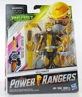 "Saban Power Rangers Beast Morphers Gold Ranger 6"" Figure Sealed Bandai NEW Toy"