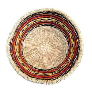 Hand Crafted Small Zulu Fruit Bowl / Basket Various Colours