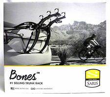 Saris Bones 3 Black Bicycle Trunk Rack