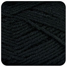 250g Sirdar Snuggly DK Baby Knitting Wool / Yarn 312 Black
