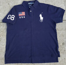 New listing Vintage Ralph Lauren Polo Olympics Beijing Rugby Size Large 2008 Rare