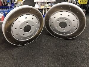 FOR AUDI R8 RS4 RS5 FRONT BRAKE DISC PAIR LEFT RIGHT 420615301A   420615301B