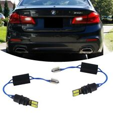 White Canbus w/ Load resistor LED Backup Reverse Lights For 17-up BMW 5 Series