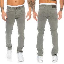 Rock Creek Herren Jeans Hose Grau Stretch-Jeans Denim Raw W29-W44 RC-2097 NEU