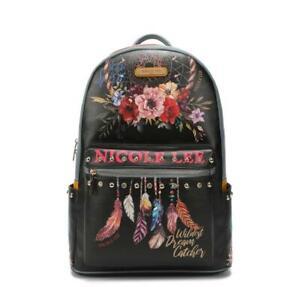 Nicole Lee LargeWomen's Laptop Backpack With USBCharging Port Bohemian USB12769L