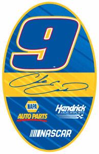 NASCAR Magnet Set-Chase Elliott #9 Oval Magnet 2 Pack