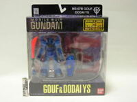 Mobile Suit Gundam MS-07B Gouf & Dodai YS Mobile Suit In Action Bandai Toy