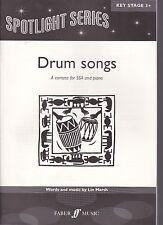 Lin Marsh : Drum songs, A cantata for SSA and piano, für Sopran, Alt und Klavier
