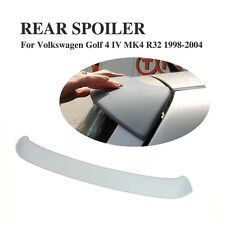 Unpainted Rear Roof Spoiler Lip Wing Fit for VW Volkswagen Golf 4 MK4 R32 98-04