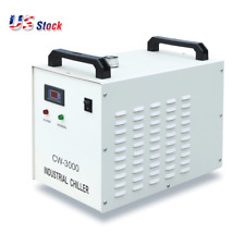 US STOCK 110V 60Hz CW-3000DG Water Chiller for 60 / 80W Laser Engraving Machine