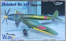 Heinkel He-119, What If Japanese, VALOM 1/72