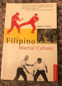 Filipino Martial Culture Martial Arts Book