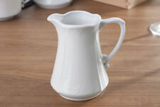 Milchkanne TRENDY Porzellan weiß HIT TRADIN 24302814 BHT 7x7x10 cm