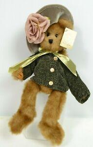 """Stuffed Bear Bearington Teddy Collection """"Jessica"""" Teddy Bear  Style 1123"""