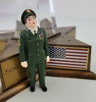 Department 56 9/11 Memorial American Pride Military Soldier Hero Figurine *Read*
