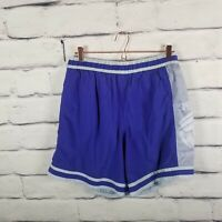 Vintage Speedo Swim Trunks Mens Large Blue Baggies Volleyball Shorts Mesh Lined