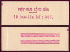 VIETNAM du SUD N°329** en carnet, Cote 183€,1968 South VietNam Booklet 290Ab MNH
