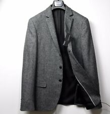 M&S AUTOGRAPH Cotton & Linen SLIM Fit BLAZER ~ Size 42 Med. ~ GREY MIX, rrp £129
