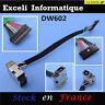 Jack DC De alimentación Conector Cargador Cable Compatible Con HP augurio