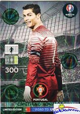 (10) 2016 Panini Adrenalyn Road to Euro RONALDO Limited Edition MINT !