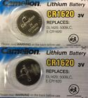 2 x PILA BOTON CAMELION CR1620 BATERIA LITIO LITHIUM 3V BATTERY DL1620 5009LC