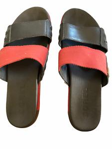 Sorel slide Sandales Corail Gris Femmes Taille 7.5