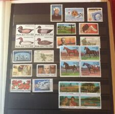 More details for usa stamp collection all unmounted mint, issues for 1985.ref us5