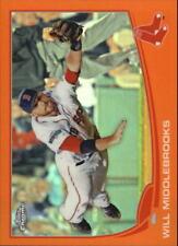 2013 Topps Chrome Orange Refractors #133 Will Middlebrooks - Boston Red Sox