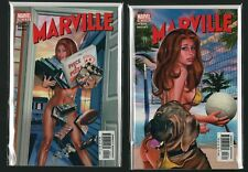 Marville #2 #3 NM Greg Horn Nude Cover Pizza Volleyball  UNUSED C4.31