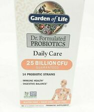 Garden of Life Dr. Formulated Probiotics Daily Care 25 Billion 30 Capsules