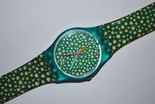 1988 Vintage Swatch Watch LL-103 SOUTH MOLTON Ladies Swiss Quartz Plastic MOD
