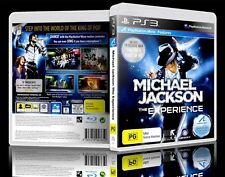 Michael Jackson: The Experience PS3 GOOD CONDITION ORIGINAL GAME CASE + MANUAL