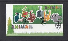 GB 2016  Animail MS animals koala monkey bat RM FDC Longthornes Wareham spec pmk